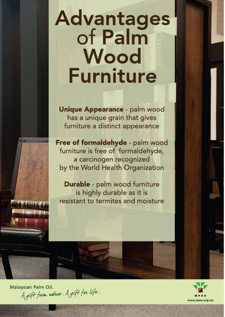 Advantages of Palm Wood Furniture