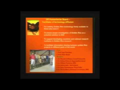 PINC 2013: Red Palm Oil for Vitamin A Deficiency by Prof. Dr. Manorama Kanuri