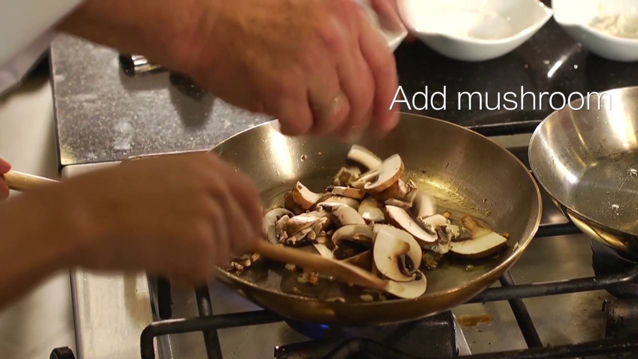 Healthy Bites: Stir Fried Portobello Mushroom