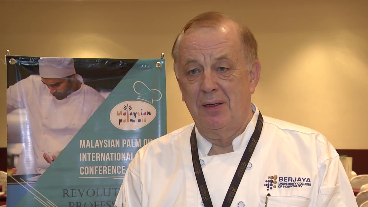 Malaysian Palm Oil International Chef Conference: Master Chef Jochen Kern