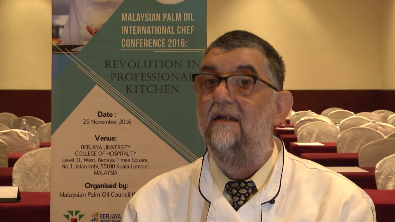 Malaysian Palm Oil International Chef Conference 2016: Chef Marco Bruschweiler