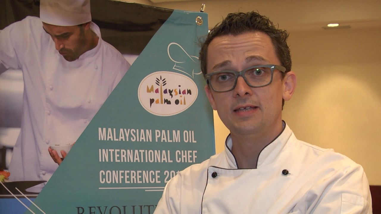 Malaysian Palm Oil International Chef Conference 2016: Chef Jean Michel