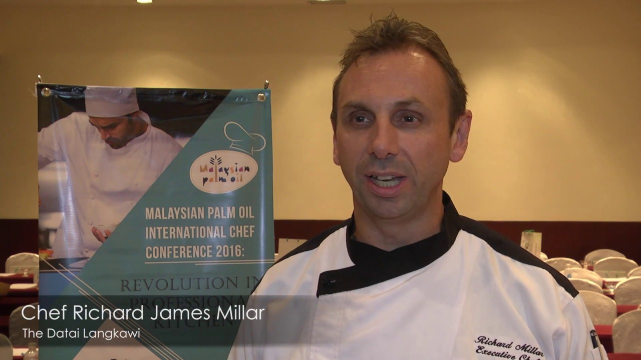 Malaysian Palm Oil International Chef Conference 2016: Chef Richard Millar