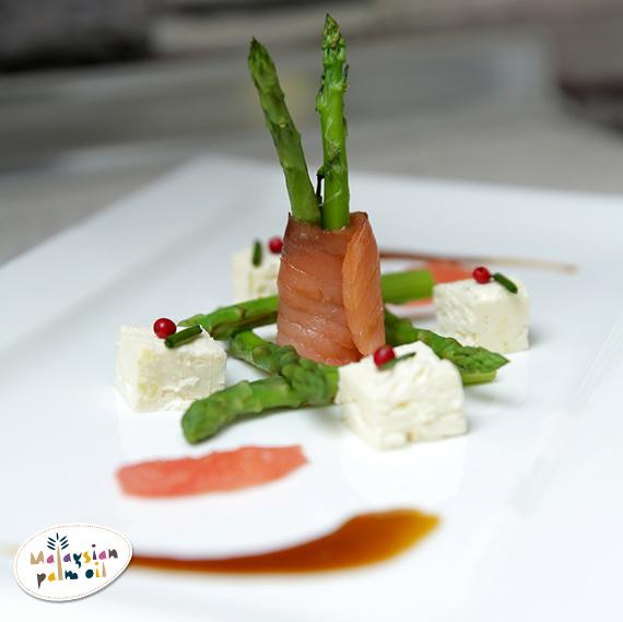 Jean Mitchel Asparagus smoked salmon feta and grapefruit saladJPG