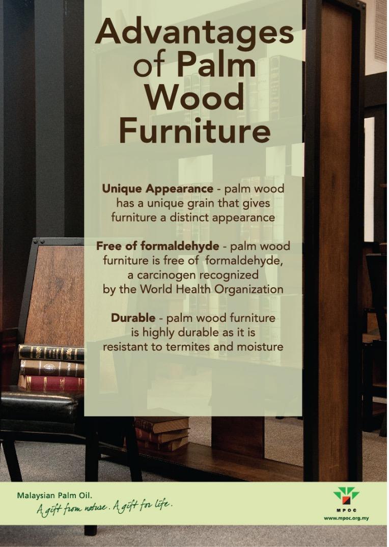 Advantages of Palm Wood Furniture