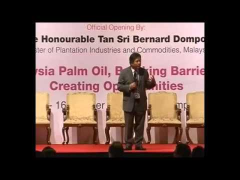 Malaysian Palm Oil Council POTS KL 2012 – Opportunities in Palm Oil by Dato Seri Idris Jala