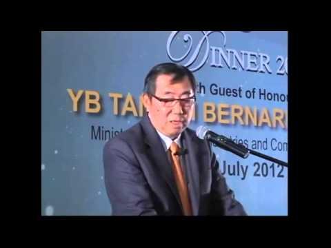 Palm Oil Industry Leadership Award 2012 Evening Forum – Recipient: Tan Sri Lee Oi Hian