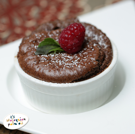 Jean Mitchel Homemade palm oil Chocolate spread souffléJPG